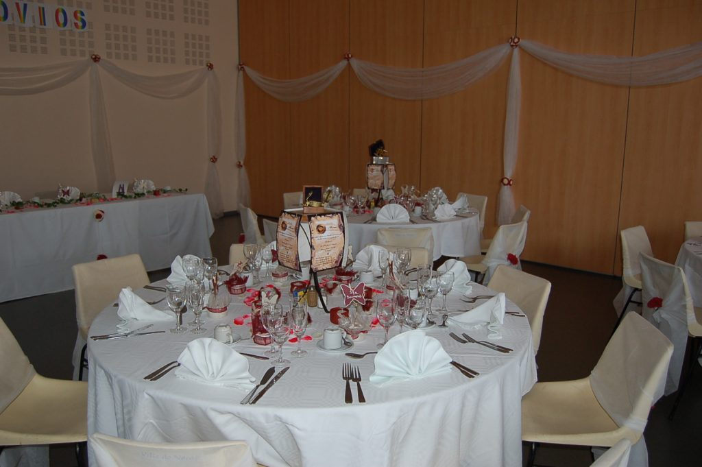 decoration table - Traiteur Agen Mariage