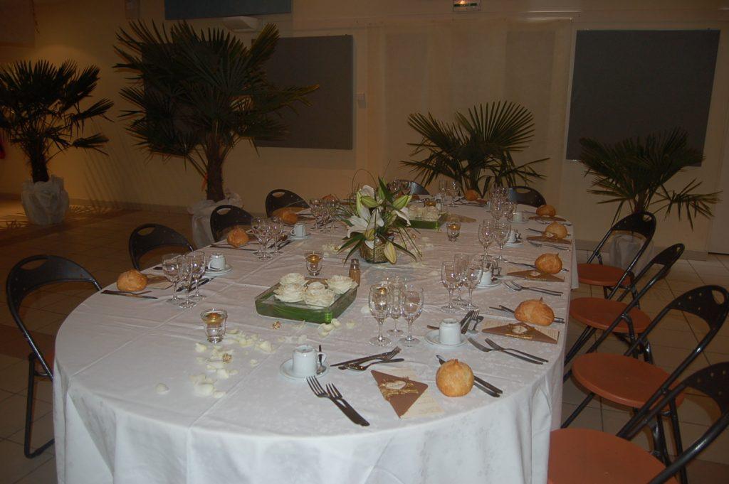table honneur mariage - Traiteur Agen Mariage